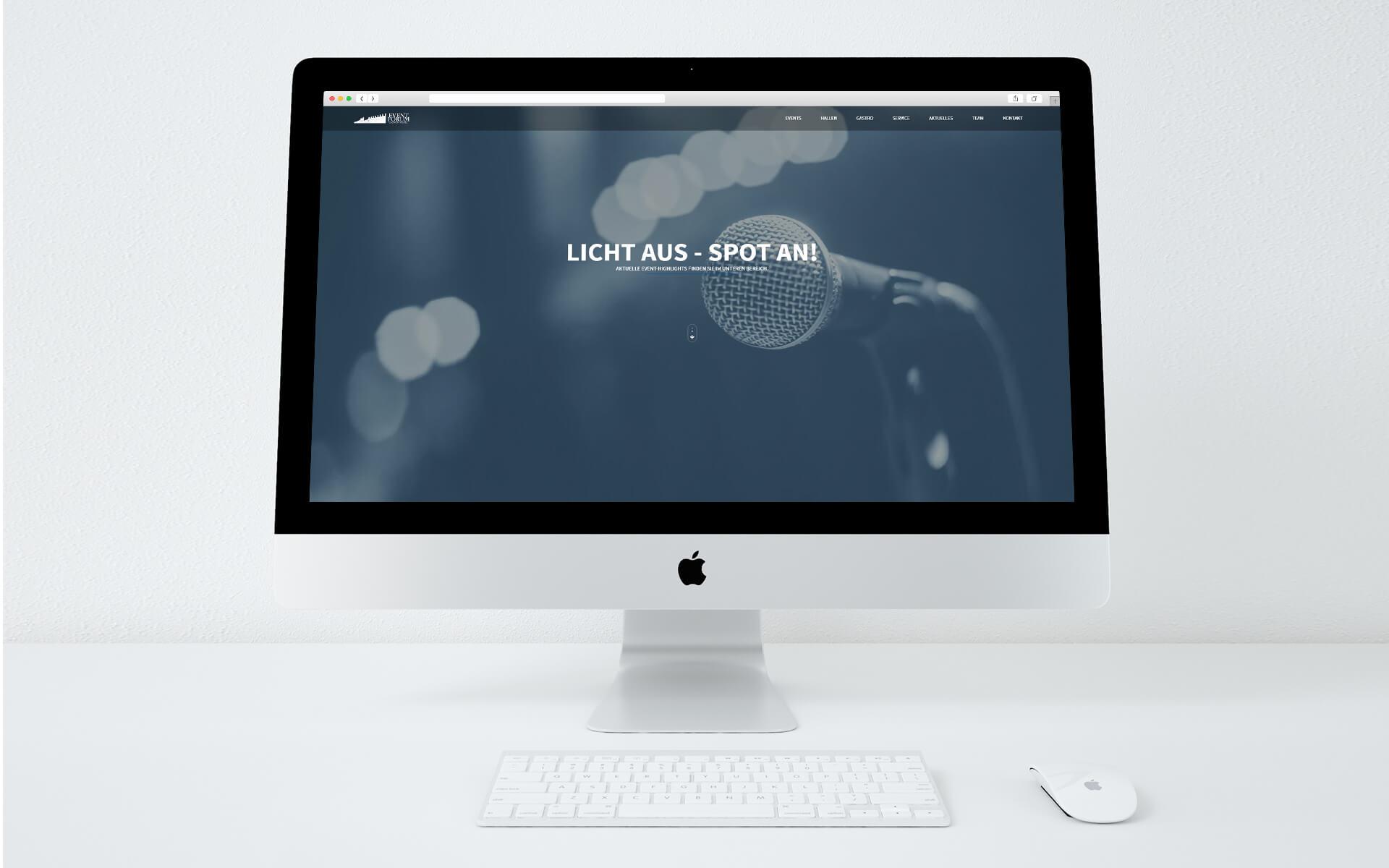 Event Forum Castrop - neue Webseite